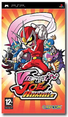 Copertina del gioco Viewtiful Joe: Red Hot Rumble per Playstation PSP