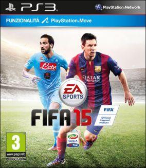 Immagine della copertina del gioco FIFA 15 per Playstation 3