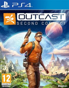Copertina del gioco Outcast - Second Contact per Playstation 4