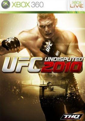 Copertina del gioco UFC 2010 Undisputed per Xbox 360
