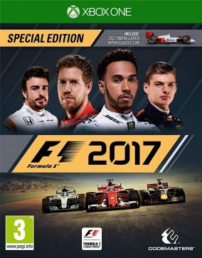 Copertina del gioco F1 2017 per Xbox One