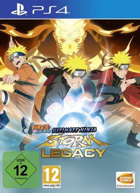 Copertina del gioco Naruto Shippuden: Ultimate Ninja Storm Legacy per Playstation 4