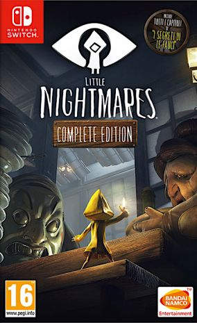Copertina del gioco LITTLE NIGHTMARES Complete Edition per Nintendo Switch