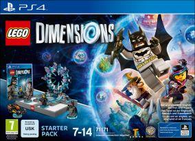 Immagine della copertina del gioco LEGO Dimensions per Playstation 4