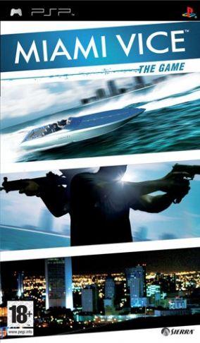 Immagine della copertina del gioco Miami Vice - The game per Playstation PSP