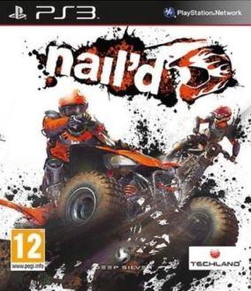 Copertina del gioco nail'd per Playstation 3