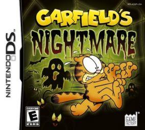 Copertina del gioco Garfield's Nightmare per Nintendo DS