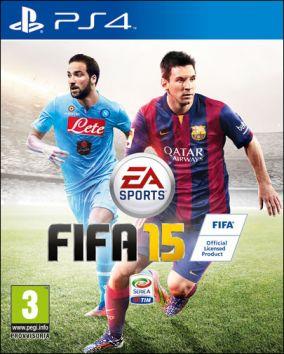 Immagine della copertina del gioco FIFA 15 per Playstation 4