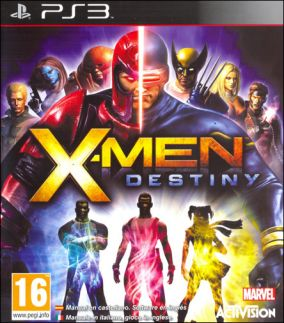 Copertina del gioco X-Men: Destiny per Playstation 3