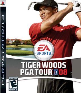 Immagine della copertina del gioco Tiger Woods PGA Tour 08 per Playstation 3