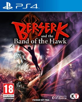 Copertina del gioco Berserk and the Band of the Hawk per Playstation 4
