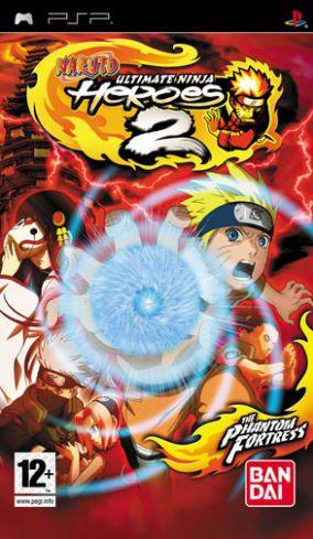 Copertina del gioco Naruto: Ultimate Ninja Heroes 2 per Playstation PSP