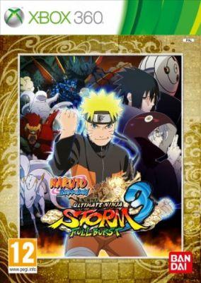 Copertina del gioco Naruto Shippuden: Ultimate Ninja Storm 3 Full Burst per Xbox 360