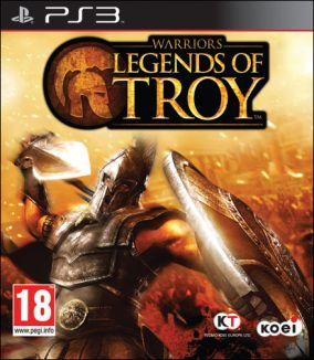 Copertina del gioco Warriors: Legends of Troy per Playstation 3