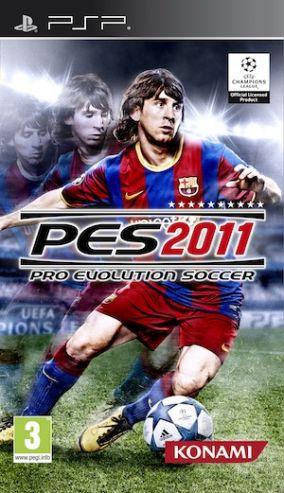 Immagine della copertina del gioco Pro Evolution Soccer 2011 per Playstation PSP
