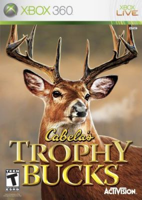 Copertina del gioco Cabela's Trophy Bucks per Xbox 360