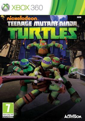 Immagine della copertina del gioco Nickelodeon: Teenage Mutant Ninja Turtles per Xbox 360