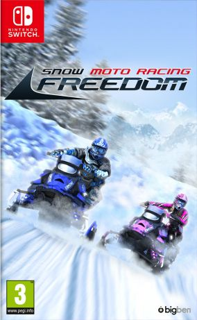 Copertina del gioco Snow Moto Racing Freedom per Nintendo Switch