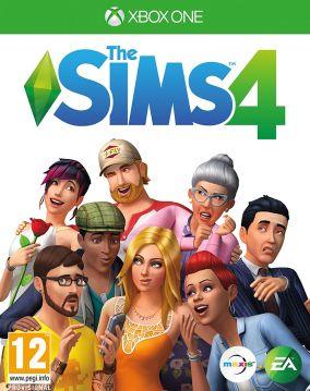 Copertina del gioco The Sims 4 per Xbox One