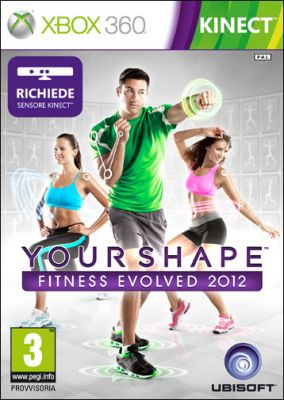 Copertina del gioco Your Shape: Fitness Evolved 2012 per Xbox 360