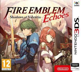 Copertina del gioco Fire Emblem Echoes: Shadow of Valentia per Nintendo 3DS