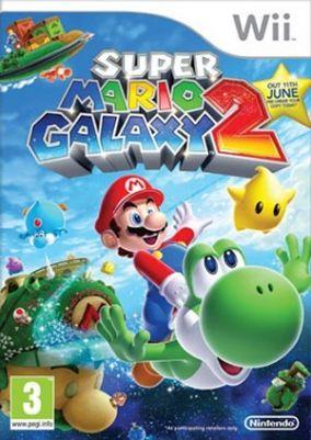 Immagine della copertina del gioco Super Mario Galaxy 2 per Nintendo Wii