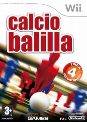 Copertina del gioco Calcio Balilla per Nintendo Wii