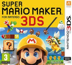 Copertina del gioco Super Mario Maker per Nintendo 3DS