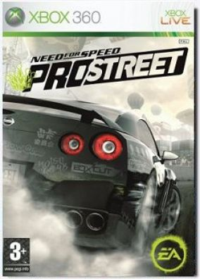 Immagine della copertina del gioco Need for Speed Pro Street per Xbox 360