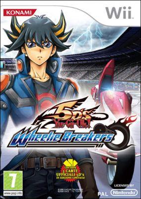 Copertina del gioco Yu-Gi-Oh! 5D's Wheelie Breakers per Nintendo Wii