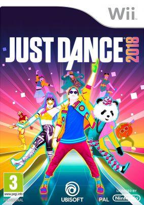 Copertina del gioco Just Dance 2018 per Nintendo Wii