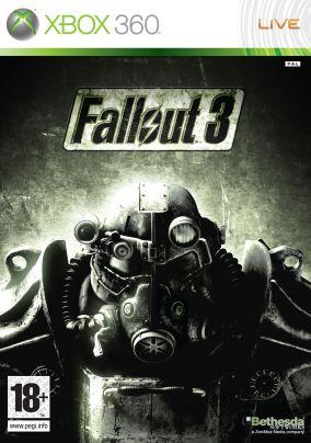 Immagine della copertina del gioco Fallout 3 per Xbox 360