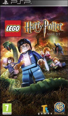Immagine della copertina del gioco LEGO Harry Potter: Anni 5-7 per Playstation PSP