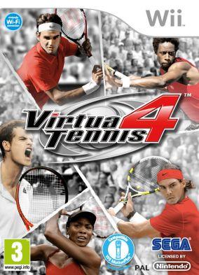 Copertina del gioco Virtua Tennis 4 per Nintendo Wii