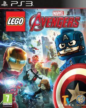 Immagine della copertina del gioco LEGO Marvel's Avengers per Playstation 3