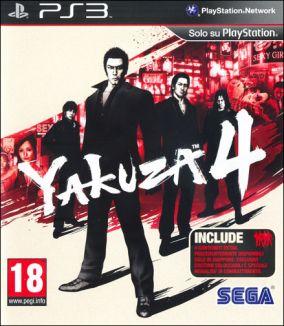 Copertina del gioco Yakuza 4 per Playstation 3