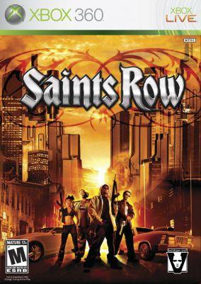 Copertina del gioco Saints Row per Xbox 360