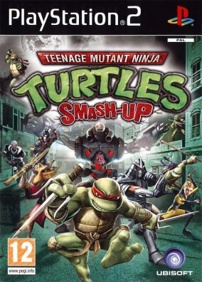 Copertina del gioco Teenage Mutant Ninja Turtles: Smash-Up per Playstation 2