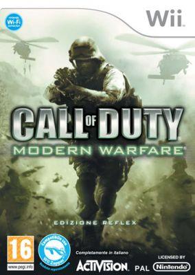 Immagine della copertina del gioco Call of Duty: Modern Warfare per Nintendo Wii
