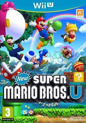 Immagine della copertina del gioco New Super Mario Bros. U per Nintendo Wii U