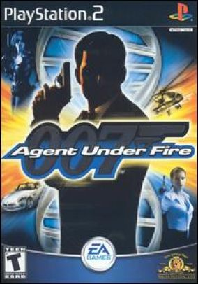 Copertina del gioco 007: Agent Under Fire per Playstation 2