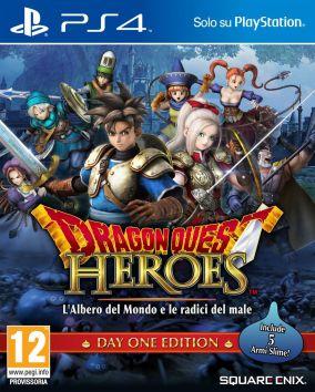 Copertina del gioco Dragon Quest Heroes: L'Albero del Mondo e Le Radici del Male per Playstation 4