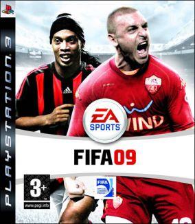 Immagine della copertina del gioco FIFA 09 per Playstation 3