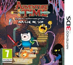 Copertina del gioco Adventure Time: Esplora i sotterranei perche'... MA CHE NE SO per Nintendo 3DS