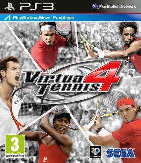 Copertina del gioco Virtua Tennis 4 per Playstation 3