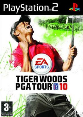 Copertina del gioco Tiger Woods PGA Tour 10 per Playstation 2