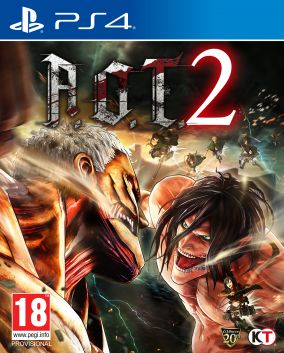 Copertina del gioco Attack on Titan 2 per Playstation 4