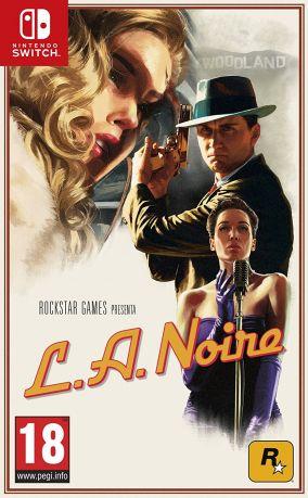 Copertina del gioco L.A. Noire per Nintendo Switch