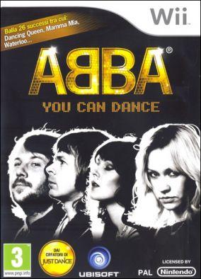 Copertina del gioco ABBA You Can Dance per Nintendo Wii