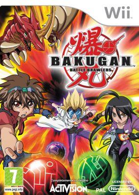 Copertina del gioco Bakugan per Nintendo Wii